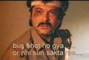 Anil Kapoor Bus Bhot Ho Gya Or Nhi Sun Saktha Me