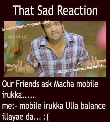 sad reaction