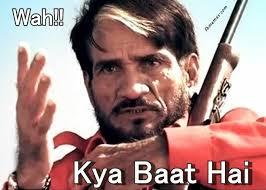 Wah Kya Bhaat Hai Hindi Comment