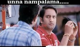 Unna Nampalama Santhanam Comment