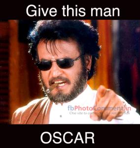 Give This Man Oscar FB