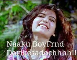 Naaku Boyfriend Dorikesadoch Telugu