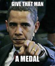 Give That Man A Medal Comment Pic