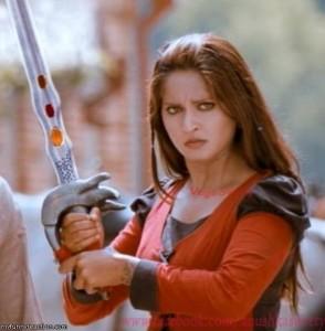 Angry Anushka
