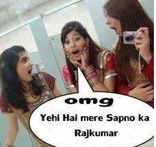 Girl Funny Comment Pic