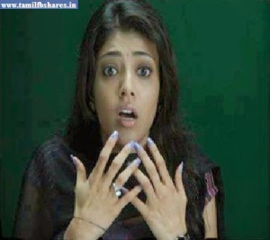 Kajal Agarwal Funny Face Reaction