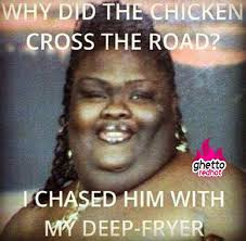 why did the chiken cross the road
