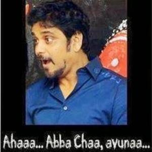 Nagarjuna funny expression
