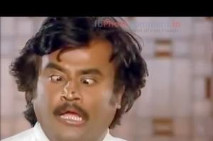 Rajini's Funny Face Expression
