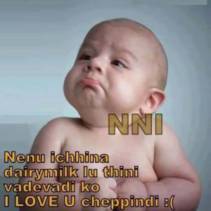 Nenu Ichhina Dairymilk Lu Thinni Vadevadi  I Love U Cheppindi