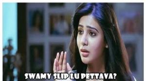 Samantha Swamy Slipla Pattava