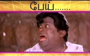 Senthil Shock Reaction