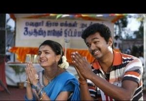 Vijay & Saranya Mohan funny face expression