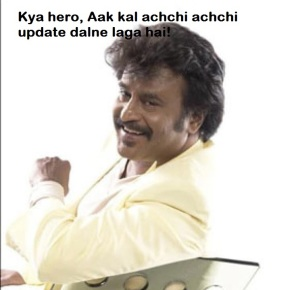 Kya hero aaj kal achchi achchi update dalne laga hai