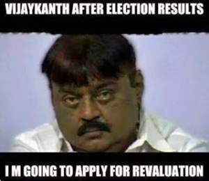 Vijayakanth  After Election Results