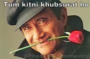 Tum Kitni Khubsurat ho fb comment pic