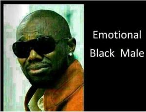 Emotional Black Male