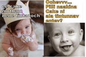 Ee cake motham nene tintanoch