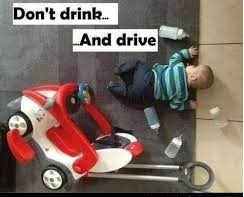 Don't drink and drivve