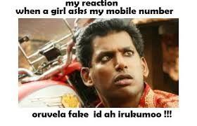 when a girl asks my mobile number