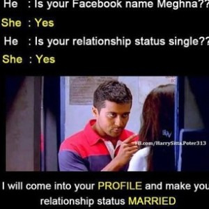 Suriya's funny Dialogue in fb