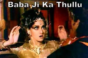 Babaji Ka Thullu Fb comment pic
