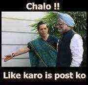 Chalo Like Karo is post ko