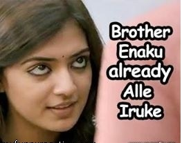Nazriya Brother Enakku Already All erukku