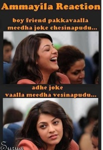 boy friend pakkavaalla meedha joke chesinapudu