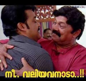 Nee Valiyavanada Malayalam comment pic