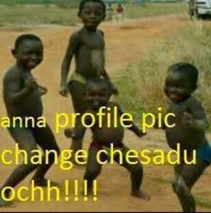 anna profile pic change chesadu ochh