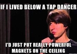 if i lived below a tap danger