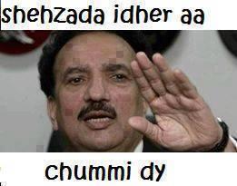 Shehzada Idher Aa Chummi Dy fb comment pic