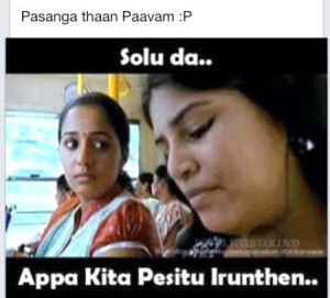 Pasanga Thaan Pavam Fb Comment Pics