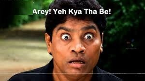 Arey Yeh Kya Tha Be Johny Lever fb comment pic