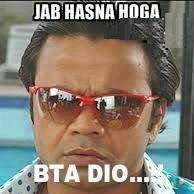 Jab hasana hoga BTA dio fb comment pic