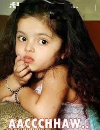 Aaccchhaw cute baby expression comment pic