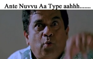 Ante Nuvvu Aa Type Aahhh fb comment pic