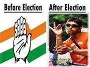 Before and After Election Fb Comment Pic