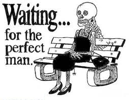Waiting for the perfect man fb comment pic