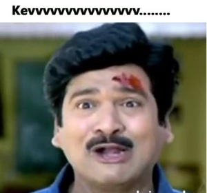Kevvv funny face reaction fb comment pic
