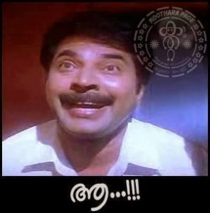 Mammootty Aaa fb comment pic