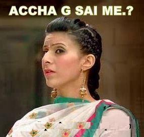 Accha G Sai Me Fb Comment Pic