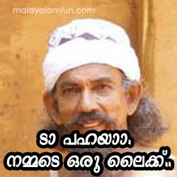 Daaa Pahayaaa Nammade Oru Like fb comment pic
