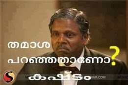 Thamaasa paranjathaano, kashtam - Funny dialogue for FB