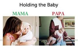 Holding The Baby Fb Comment Pic
