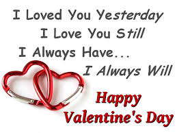 Best Lines on Valentine Day 2015