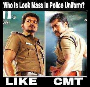 Who Is Looking Mass In Police Dress fb comment pic