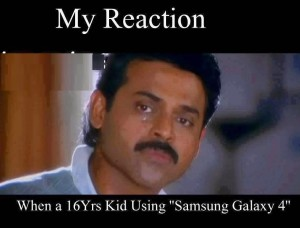 Venkatesh Funny Face Reaction fb comment pic