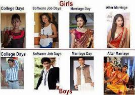 Girls vs Boys Fb Funny Photo Comment Pic